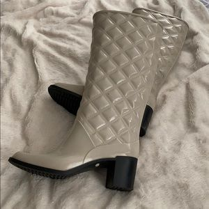 Marc Jacobs quilted rain boots